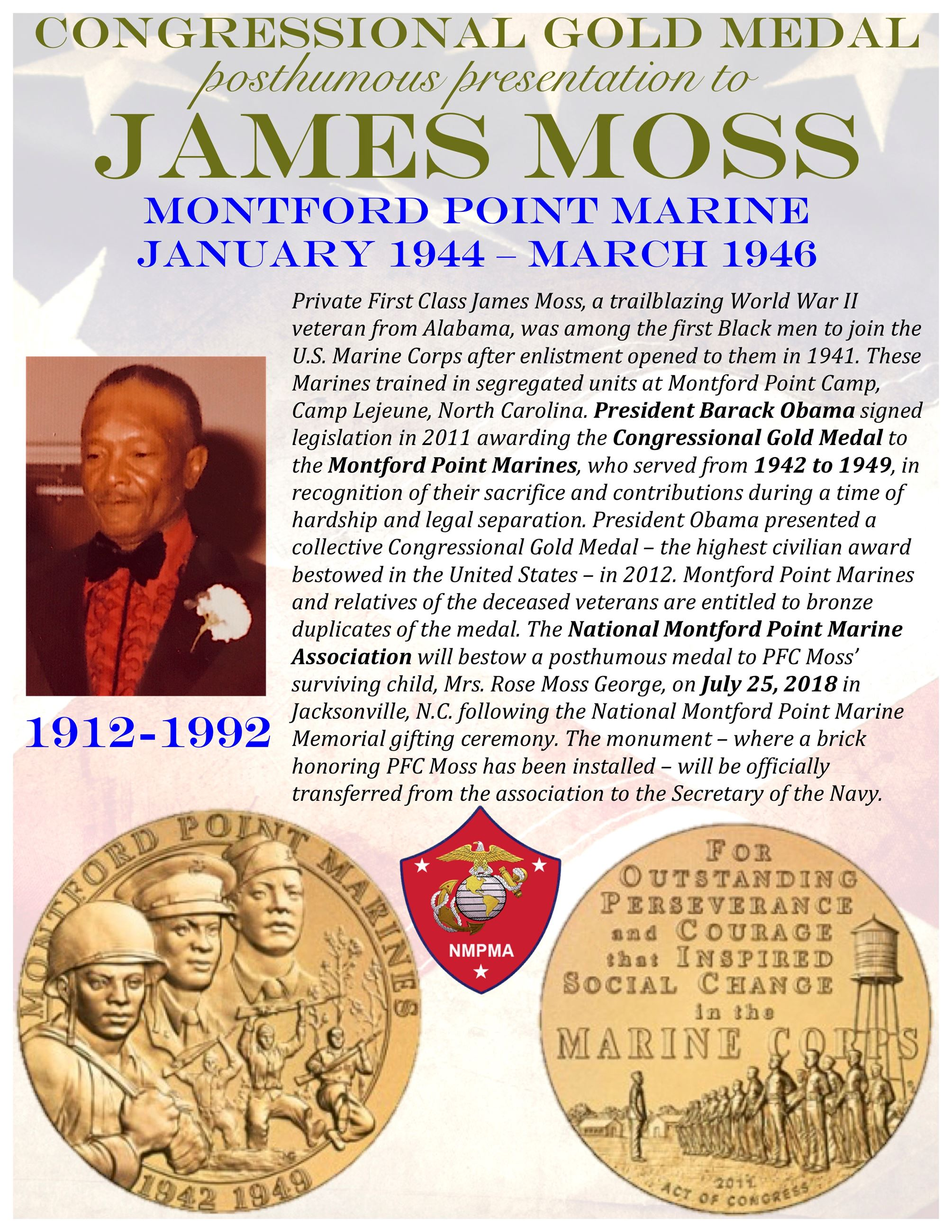 JTDA_Robert Moss Montford Point flyer 2018 front